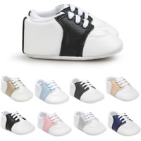 Newborn Baby Crib Shoes Infant Toddler Boy Girl Saddles Shoes 3 6 9 12 18 Months