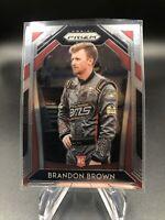 2020 Panini Prizm NASCAR Brandon Brown RC Rookie Card