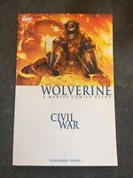 Civil War: Wolverine (new Printing) by Marc Guggenheim First Print