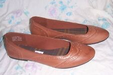 American Eagle Shoes Flats Brown Tan Size 7.5 New