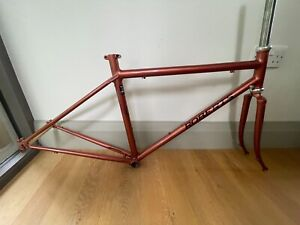 Chas Roberts steel Bike frame, Reynolds 725, Audax frame