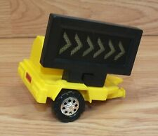 Genuine Hasbro Tonka  Light Up Caution Move Lanes Trailer Replacement Toy