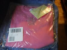 NIP The Quacker Factory Ladies Short Sleeve Sweater Small  Embellished Snowflake