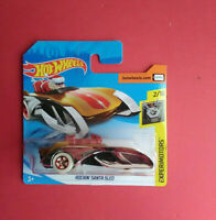 HOT WHEELS - ROCKIN' SANTA SLED - EXPERIMOTORS - SHORT CARTE - GHB61 - R 6104