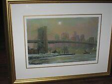 Brooklyn Bridge in Winter by Alexander Chen, 2005