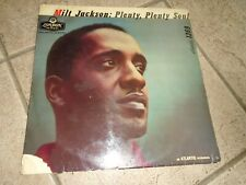 MILT JACKSON PLENTY PLENTY SOUL RECORD LP / LONDON LTZ K 15141 / PLAY TESTED
