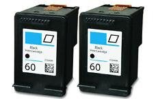 2PK #60 Black Ink for HP Deskjet F4400 F4450 F2400 F2430 F2480 F2492 F4210 F4230