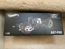 Hot Wheels X5471 Elite Batman Bat Pod The Dark Knight Rises Trilogy 1:18 Black