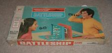 1967 BATTLESHIP Milton Bradley Navy Battle Game Blue Red Kits Complete All Boats