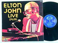 ELTON JOHN – Elton John Live 17-11-70 / 1977 Vinyl LP Album SHM 942 VG+/VG+