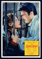 Fotobusta el Regina Margot, Reine , 1954 ,Jeanne Moreau, A. Dumas , Abel Gance