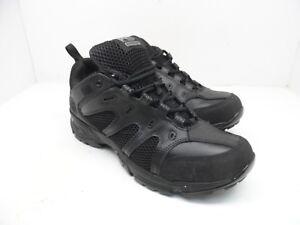 Timberland Men's Valor Slip Resistant Oxford Work Shoes 90667 Black Size 9.5M