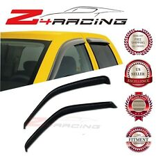 For 96-12 Chevrolet Express Vent Shade Guard Window Visors Deflector Smoke 2PC