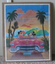 VINTAGE WALT DISNEY POSTER MICKEY MOUSE & MINNIE MOUSE SHRINK WRAPPED RARE
