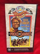The Proud And The Damned VHS Video Tape Gun Smokin Western Classics Cesar Romero