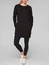 ATHLETA WOMEN'S BLACK LONG SLEEVE LOLO DRESS Sz M