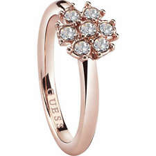 Women's Ring Jewelry Guess Roses Gold UBR28519-54