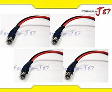 Wire Harness Miniature Pigtail Male BA9s G3-1/2 Four Cables Light Bulb Lamp Plug