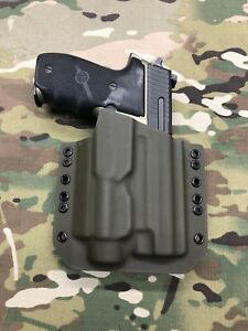 OD Green Kydex Holster for SIG P226R Combat Streamlight TLR-2s / TLR2