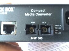 Black Box LHC002A-R4 Compact Media Converter Fast Ethernet Multimode 1310nm 2km
