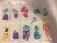 30p Polly Pocket Doll Lot Clothes Doll Outfits SHOES Pants Dresses Skirts Pp#23