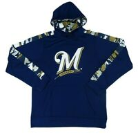 Milwaukee Brewers MLB Zubaz Men's Drawstring Hoodie