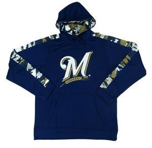 Milwaukee Brewers MLB Zubaz Men's Drawstring Hoodie
