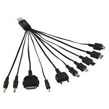 Retro USB Multiple Charger Cable for LG, Samsung, iPod®, Nokia DC 3,5 2.0 , etc