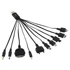 Cable Cargador Usb Retro múltiples para LG, Samsung, iPod ®, Nokia DC 3,5 2.0, etc.