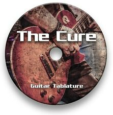 The Cure Indie Rock Guitar Tabs Tablature Lesson Software CD - Guitar Pro