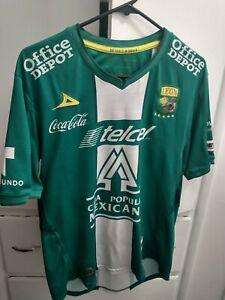 Club Leon 2013-2014 Pirma Home Jersey Size XL