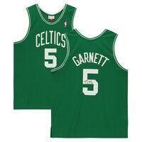 KEVIN GARNETT Autographed Boston Celtics Green Jersey FANATICS