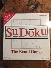 SUDOKU The Board Game Pressman Original 1 to 4 Player Version New Sealed