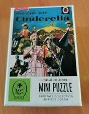 Jigsaw Cinderella Vintage Mini Puzzle Fairytale Collection 88 Pieces
