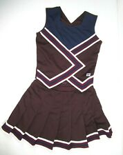 """NEW Cheerleader Uniform Outfit Costumes Sizes 32-40"""" Top 28-30  Skirt Choose"""