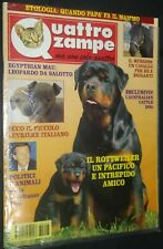 Quattrozampe Rottweiler Cover Mar 1996