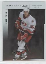 2003-04 In the Game-Used Signature Series Erik Cole #25