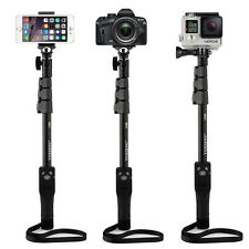 Bluetooth Selfie Stick Zoom Monopod for iPhone X 8 7 Plus 6s SE Gopro Camera