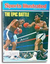 Muhammad Ali Signed Autographed 1975 Sports Illustrated Magazine  JSA Z68875