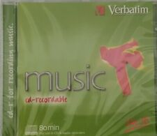 Verbatim CD-R80 43361 COLOR Green Audio Music CDR Recordable Disc NEW & SEALED