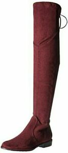 Marc Fisher Women's HULIE Over The Knee Boot, Burgundy, UK 3W