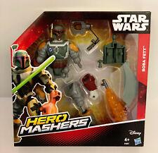 """Star Wars Deluxe Boba Fett Héroe Mashers la fuerza despierta 6"""" Figura De Acción"""