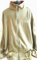 Vintage Nike Flight-Mens Athletic Basketball Jacket, Full Zip, Extra Large-XL