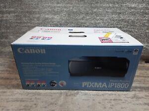 Canon PIXMA IP1800 Digital Photo Inkjet Printer New Open Box - Complete