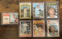 1960s-1970s Topps Carl Yastrzemski Baseball Card Lot (7)