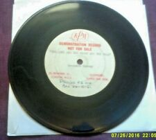 """LAURENCE HARVEY-THE LONG AND THE SHORT AND THE TALL 7"""" ACETATE"""