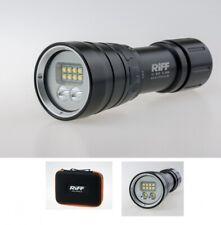 Riff TL-4000 Tauchlampe mit Spot und Weitwinkel mit bis zu 2600 Lumen