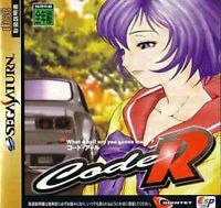 (Used) Sega Saturn Code R [Japan Import]