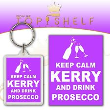 TFB DRINK WINE AND FALL OVER KEYRING Alcohol Quirky Gift Friend Hen Party Fun