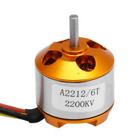 A2212 2200KV 6T Motor Outrunner Brushless for RC Quadcopter Helicopter